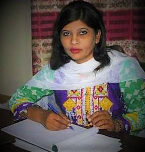 Kohli becomes Pakistan's first dalit woman Senator. .