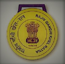 RAJIV GANDHI KHEL RATNA AWARD-INDIA'S HIGHEST HONOUR FOR SPORTS AND GAMES.