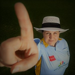 G.LAKSHMI-THE FIRST FEMALE ICC MATCH REFEREE.