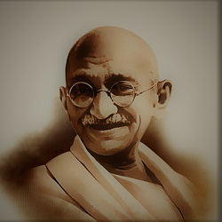 GANDHI-AN ARCHITECT OF SATYAGRAHA.