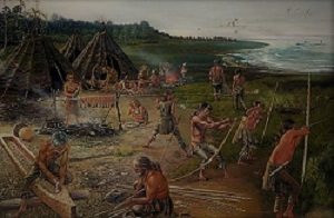 MESOLITHIC- THE AGE OF MICROLITHS.