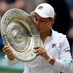 THE NEW QUEEN OF WIMBLEDON-BARTY